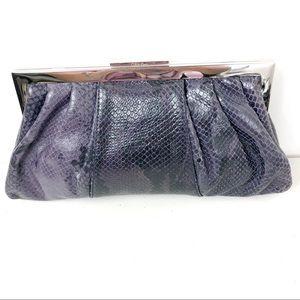Calvin Klein Purple  Clutch Bag